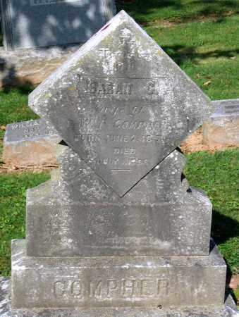 COMPHER, SARAH C. - Frederick County, Maryland | SARAH C. COMPHER - Maryland Gravestone Photos