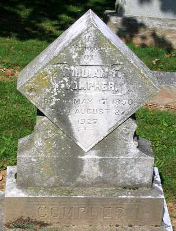 COMPHER, WILLIAM F. - Frederick County, Maryland | WILLIAM F. COMPHER - Maryland Gravestone Photos