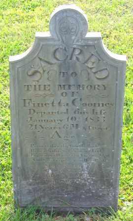 COOMES, FINETTA - Frederick County, Maryland | FINETTA COOMES - Maryland Gravestone Photos