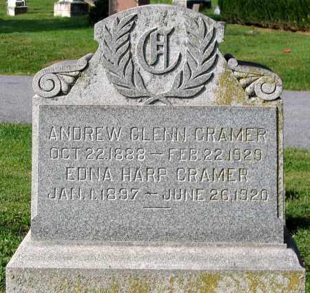 HARP CRAMER, EDNA - Frederick County, Maryland   EDNA HARP CRAMER - Maryland Gravestone Photos