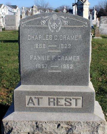 CRAMER, FANNIE F. - Frederick County, Maryland | FANNIE F. CRAMER - Maryland Gravestone Photos