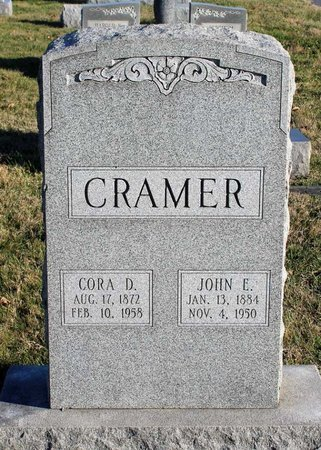 CRAMER, CORA D. - Frederick County, Maryland | CORA D. CRAMER - Maryland Gravestone Photos