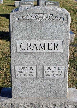 CRAMER, JOHN E. - Frederick County, Maryland | JOHN E. CRAMER - Maryland Gravestone Photos