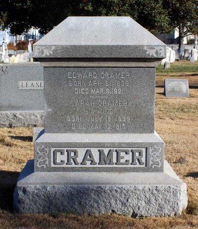 CRAMER, EDWARD - Frederick County, Maryland   EDWARD CRAMER - Maryland Gravestone Photos