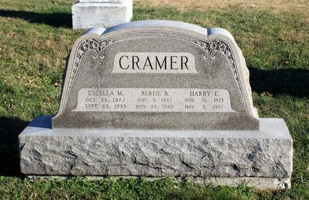 CRAMER, HARRY E. - Frederick County, Maryland | HARRY E. CRAMER - Maryland Gravestone Photos