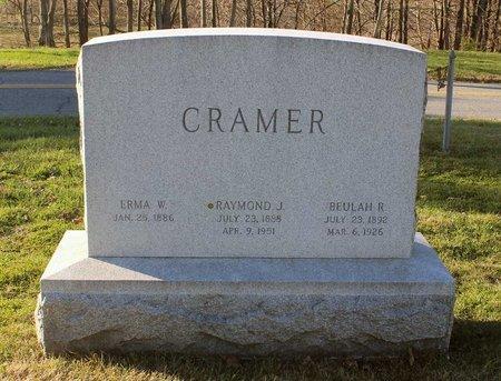 CRAMER, RAYMOND J. - Frederick County, Maryland | RAYMOND J. CRAMER - Maryland Gravestone Photos
