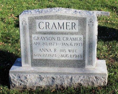 CRAMER, GRAYSON D. - Frederick County, Maryland | GRAYSON D. CRAMER - Maryland Gravestone Photos