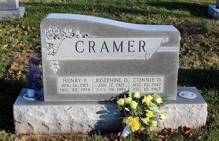CRAMER, CONNIE D. - Frederick County, Maryland | CONNIE D. CRAMER - Maryland Gravestone Photos