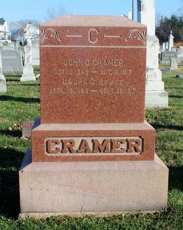 CRAMER, JOHN D. - Frederick County, Maryland   JOHN D. CRAMER - Maryland Gravestone Photos