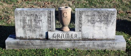 CRAMER, MURRY P. - Frederick County, Maryland | MURRY P. CRAMER - Maryland Gravestone Photos