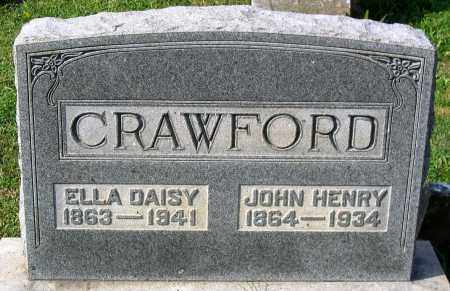 CRAWFORD, JOHN HENRY - Frederick County, Maryland | JOHN HENRY CRAWFORD - Maryland Gravestone Photos