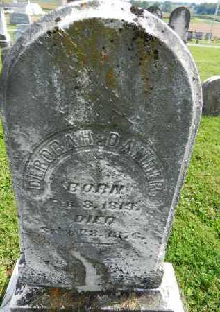 DANNER, DEBORAH - Frederick County, Maryland   DEBORAH DANNER - Maryland Gravestone Photos