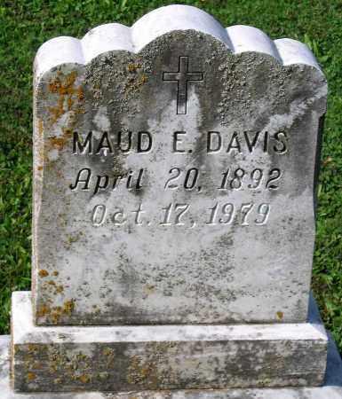 DAVIS, MAUD E. - Frederick County, Maryland | MAUD E. DAVIS - Maryland Gravestone Photos