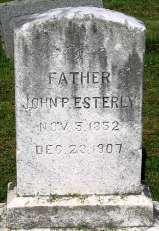 ESTERLY, JOHN P. - Frederick County, Maryland | JOHN P. ESTERLY - Maryland Gravestone Photos