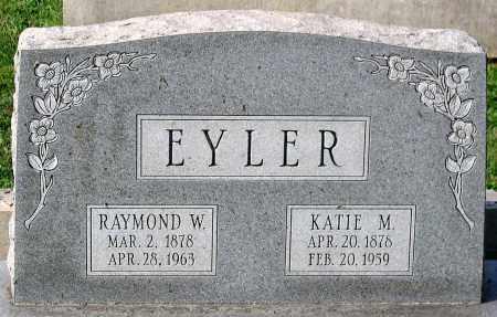 EYLER, RAYMOND W. - Frederick County, Maryland | RAYMOND W. EYLER - Maryland Gravestone Photos