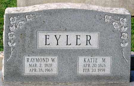 EYLER, KATIE M. - Frederick County, Maryland | KATIE M. EYLER - Maryland Gravestone Photos