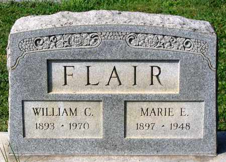 FLAIR, WILLIAM C. - Frederick County, Maryland | WILLIAM C. FLAIR - Maryland Gravestone Photos