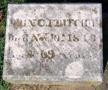 FRITCHIE, JOHN C. - Frederick County, Maryland   JOHN C. FRITCHIE - Maryland Gravestone Photos