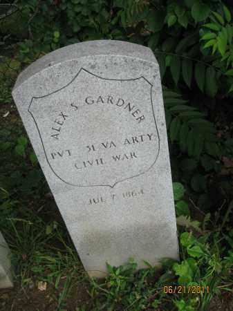 GARDNER (CW), ALEX. S. - Frederick County, Maryland   ALEX. S. GARDNER (CW) - Maryland Gravestone Photos