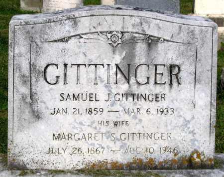 GITTINGER, SAMUEL J. - Frederick County, Maryland | SAMUEL J. GITTINGER - Maryland Gravestone Photos