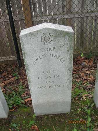 HALES (HALE) (CW), OWEN - Frederick County, Maryland | OWEN HALES (HALE) (CW) - Maryland Gravestone Photos