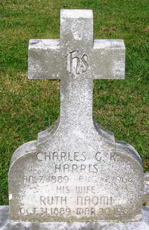 HARRIS, CHARLES G. K. - Frederick County, Maryland | CHARLES G. K. HARRIS - Maryland Gravestone Photos