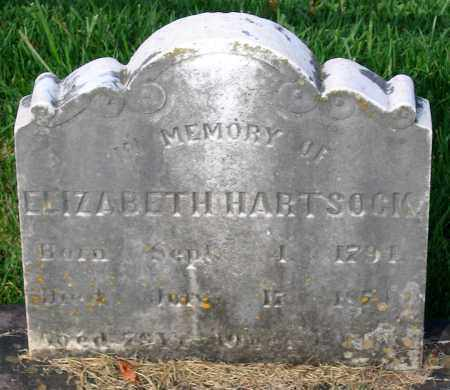 HARTSOCK, ELIZABETH - Frederick County, Maryland | ELIZABETH HARTSOCK - Maryland Gravestone Photos