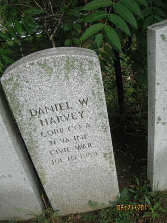 HARVEY (CW), DANIEL W. - Frederick County, Maryland | DANIEL W. HARVEY (CW) - Maryland Gravestone Photos