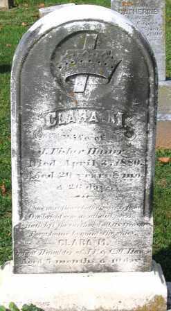 HAUER, CLARA M. - Frederick County, Maryland | CLARA M. HAUER - Maryland Gravestone Photos