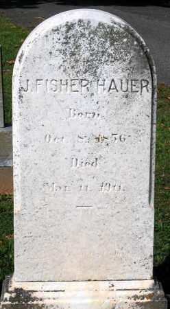 HAUER, J. FISHER - Frederick County, Maryland   J. FISHER HAUER - Maryland Gravestone Photos