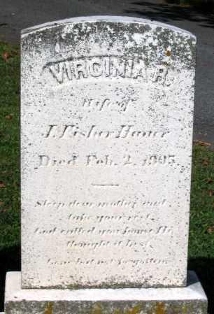 HAUER, VIRGINIA R. - Frederick County, Maryland | VIRGINIA R. HAUER - Maryland Gravestone Photos