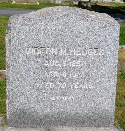 HEDGES, GIDEON M. - Frederick County, Maryland | GIDEON M. HEDGES - Maryland Gravestone Photos