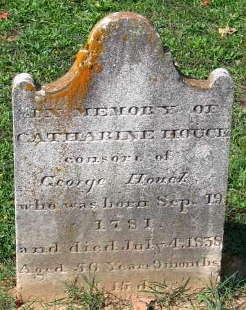 HOUCK, CATHARINE - Frederick County, Maryland   CATHARINE HOUCK - Maryland Gravestone Photos