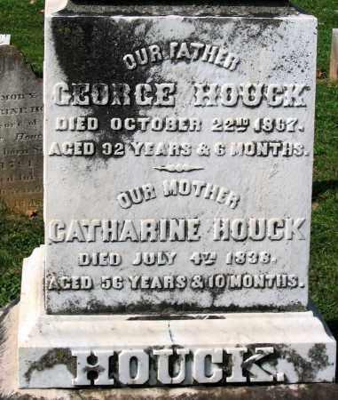 HOUCK, GEORGE - Frederick County, Maryland | GEORGE HOUCK - Maryland Gravestone Photos