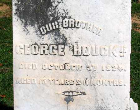 HOUCK, GEORGE JR. - Frederick County, Maryland | GEORGE JR. HOUCK - Maryland Gravestone Photos