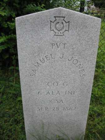 JONES (CW), SAMUEL J. - Frederick County, Maryland | SAMUEL J. JONES (CW) - Maryland Gravestone Photos