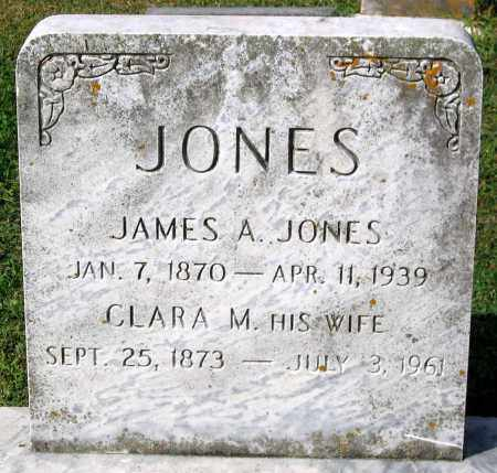 JONES, JAMES A. - Frederick County, Maryland | JAMES A. JONES - Maryland Gravestone Photos