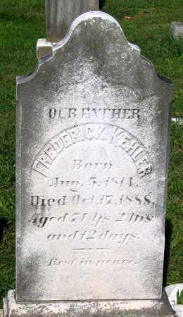 KEHLER, FREDERICK - Frederick County, Maryland | FREDERICK KEHLER - Maryland Gravestone Photos