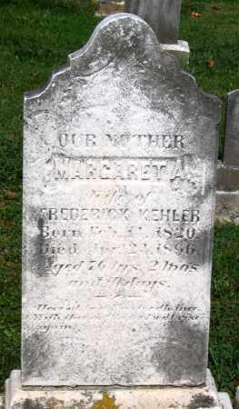 KEHLER, MARGARET A. - Frederick County, Maryland | MARGARET A. KEHLER - Maryland Gravestone Photos