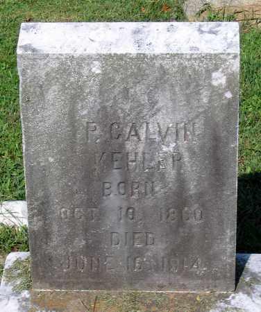 KEHLER, P. CALVIN - Frederick County, Maryland | P. CALVIN KEHLER - Maryland Gravestone Photos