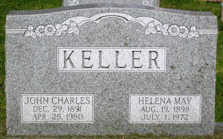 KELLER, HELENA MAY - Frederick County, Maryland | HELENA MAY KELLER - Maryland Gravestone Photos