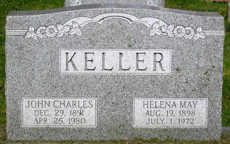 KELLER, HELENA MAY - Frederick County, Maryland | HELENA MAY KELLER - Maryland Gravestone Photos