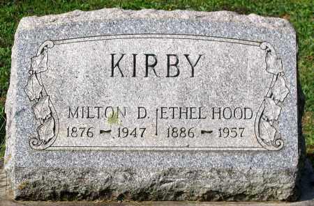KIRBY, MILTON D. - Frederick County, Maryland   MILTON D. KIRBY - Maryland Gravestone Photos
