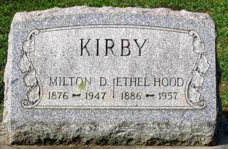 KIRBY, ETHEL - Frederick County, Maryland | ETHEL KIRBY - Maryland Gravestone Photos