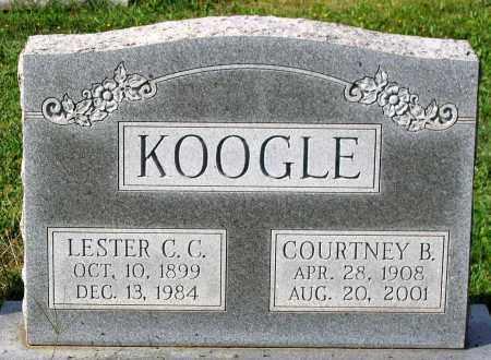 KOOGLE, LESTER C. C. - Frederick County, Maryland | LESTER C. C. KOOGLE - Maryland Gravestone Photos