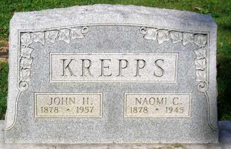 KREPPS, NAOMI C. - Frederick County, Maryland | NAOMI C. KREPPS - Maryland Gravestone Photos