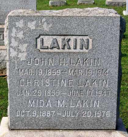 LAKIN, CHRISTINE - Frederick County, Maryland | CHRISTINE LAKIN - Maryland Gravestone Photos