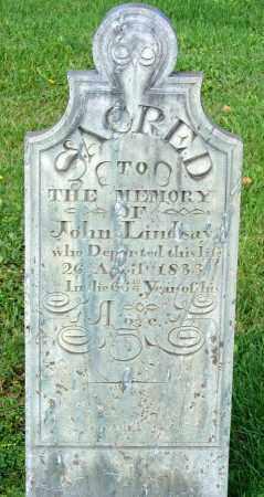 LINDSAY, JOHN - Frederick County, Maryland | JOHN LINDSAY - Maryland Gravestone Photos
