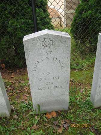 LYNCH (CW), HOSEA W. - Frederick County, Maryland | HOSEA W. LYNCH (CW) - Maryland Gravestone Photos
