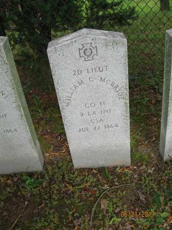 MCBRIDE (CW), WILLIAM C. - Frederick County, Maryland | WILLIAM C. MCBRIDE (CW) - Maryland Gravestone Photos